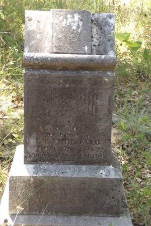 THRELKELD, MARION O - Smith County, Texas | MARION O THRELKELD - Texas Gravestone Photos