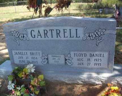 GARTRELL, JANELLE - Somervell County, Texas | JANELLE GARTRELL - Texas Gravestone Photos
