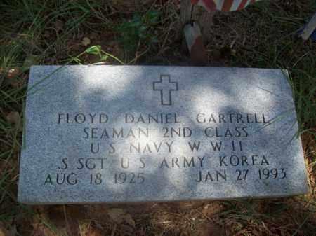 GARTRELL {VETERAN WWII}, FLOYD DANIEL - Somervell County, Texas | FLOYD DANIEL GARTRELL {VETERAN WWII} - Texas Gravestone Photos