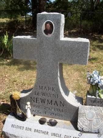 NEWMAN, MARK DEWAYNE - Somervell County, Texas | MARK DEWAYNE NEWMAN - Texas Gravestone Photos