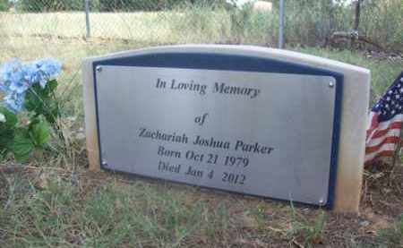 PARKER, ZACHARIAH JOSHUA - Somervell County, Texas | ZACHARIAH JOSHUA PARKER - Texas Gravestone Photos