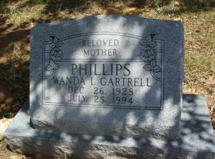 PHILLIPS, WANDA - Somervell County, Texas | WANDA PHILLIPS - Texas Gravestone Photos