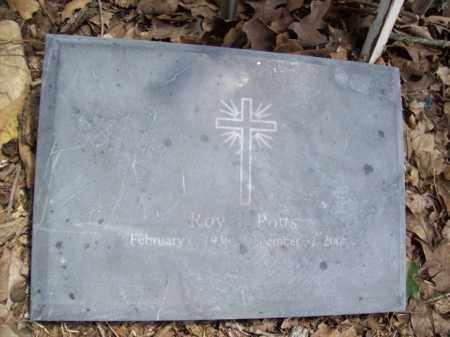 POTTS, ROY EUGENE - Somervell County, Texas | ROY EUGENE POTTS - Texas Gravestone Photos