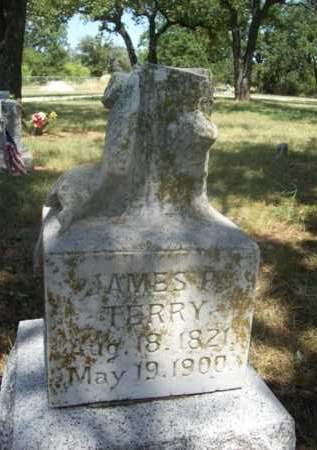 TERRY {VETERAN CSA}, JAMES P. - Somervell County, Texas | JAMES P. TERRY {VETERAN CSA} - Texas Gravestone Photos