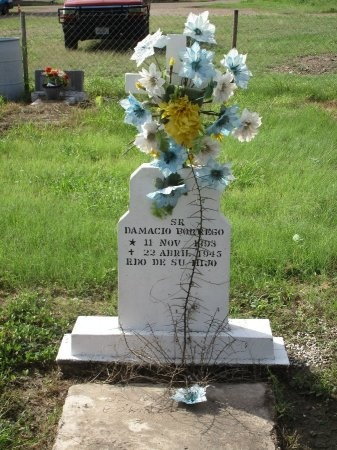 BORREGO, DAMACIO - Starr County, Texas | DAMACIO BORREGO - Texas Gravestone Photos