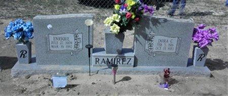 CONTRERAS RAMIREZ, DORA - Starr County, Texas | DORA CONTRERAS RAMIREZ - Texas Gravestone Photos
