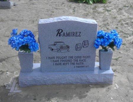 RAMIREZ, ENRIQUE RALDO (BACKVIEW) - Starr County, Texas | ENRIQUE RALDO (BACKVIEW) RAMIREZ - Texas Gravestone Photos