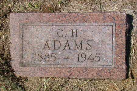 ADAMS, C H - Stephens County, Texas | C H ADAMS - Texas Gravestone Photos