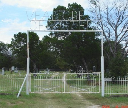 *CEMETERY GATE,  - Stephens County, Texas |  *CEMETERY GATE - Texas Gravestone Photos