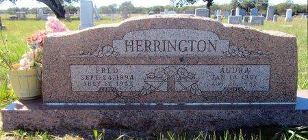 HARRISON HERRINGTON, AUDRA - Stephens County, Texas | AUDRA HARRISON HERRINGTON - Texas Gravestone Photos