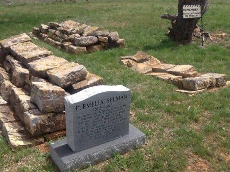 NORWOOD SELMAN, PERMELIA - Stephens County, Texas | PERMELIA NORWOOD SELMAN - Texas Gravestone Photos