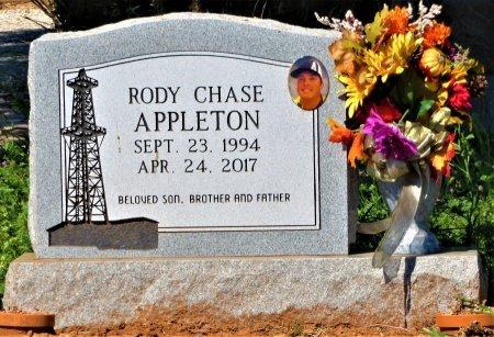 APPLETON, RODY CHASE - Stonewall County, Texas | RODY CHASE APPLETON - Texas Gravestone Photos