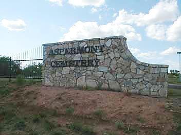 *CEMETERY SIGN,  - Stonewall County, Texas |  *CEMETERY SIGN - Texas Gravestone Photos
