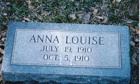 ALLISON, ANNA LOUISE - Sutton County, Texas   ANNA LOUISE ALLISON - Texas Gravestone Photos