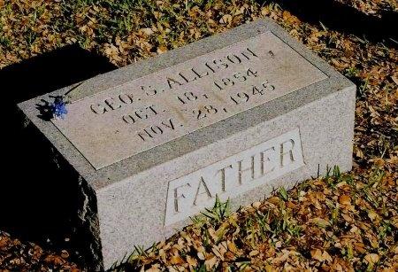 ALLISON, GEORGE SUTTON - Sutton County, Texas | GEORGE SUTTON ALLISON - Texas Gravestone Photos