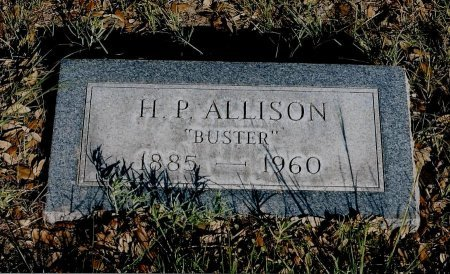 "ALLISON, HUGH PASCAL ""BUSTER"" - Sutton County, Texas 