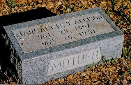 THORNHILL ALLISON, MARGARET - Sutton County, Texas | MARGARET THORNHILL ALLISON - Texas Gravestone Photos