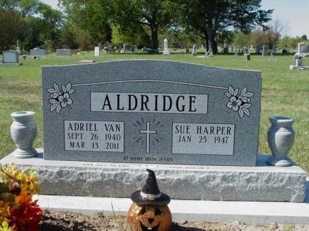 ALDRIDGE, ADRIEL VAN - Tarrant County, Texas   ADRIEL VAN ALDRIDGE - Texas Gravestone Photos