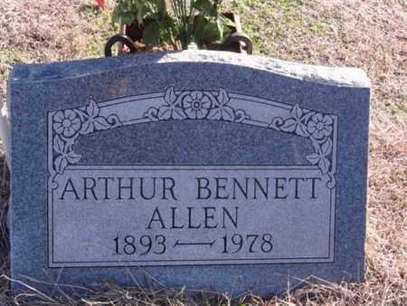 ALLEN, ARTHUR BENNETT - Tarrant County, Texas | ARTHUR BENNETT ALLEN - Texas Gravestone Photos