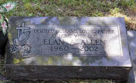 ALLEN, ELAN A - Tarrant County, Texas   ELAN A ALLEN - Texas Gravestone Photos
