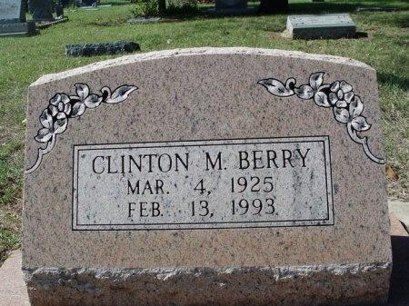 BERRY, CLINTON M. - Tarrant County, Texas | CLINTON M. BERRY - Texas Gravestone Photos