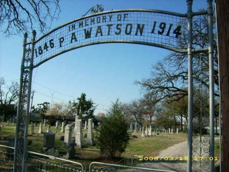 *CEMETERY GATE, . - Tarrant County, Texas | . *CEMETERY GATE - Texas Gravestone Photos