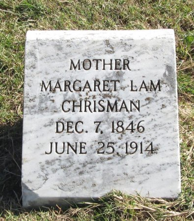 CHRISMAN, MARGARET LAM - Tarrant County, Texas | MARGARET LAM CHRISMAN - Texas Gravestone Photos