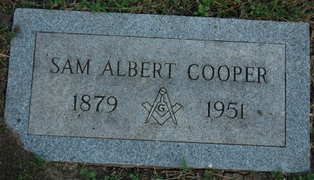 COOPER, SAM ALBERT - Tarrant County, Texas | SAM ALBERT COOPER - Texas Gravestone Photos