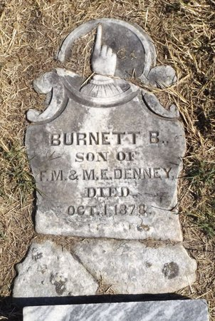 DENNEY, BURNETT B - Tarrant County, Texas | BURNETT B DENNEY - Texas Gravestone Photos