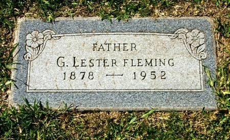 FLEMING, GEORGE LESTER - Tarrant County, Texas | GEORGE LESTER FLEMING - Texas Gravestone Photos
