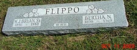 FLIPPO, SR., W. J. BRYAN - Tarrant County, Texas | W. J. BRYAN FLIPPO, SR. - Texas Gravestone Photos