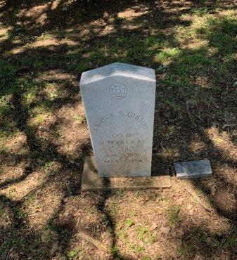 GIBSON (VETERAN CSA), ARTHUR B - Tarrant County, Texas | ARTHUR B GIBSON (VETERAN CSA) - Texas Gravestone Photos