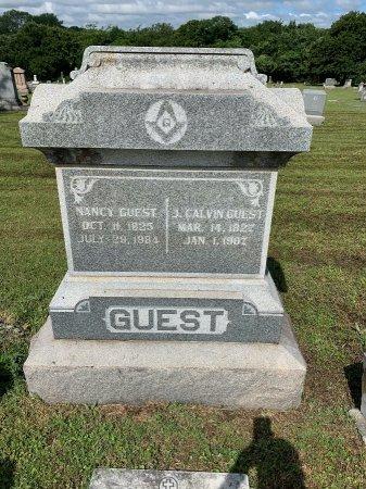 GUEST, J. CALVIN - Tarrant County, Texas | J. CALVIN GUEST - Texas Gravestone Photos