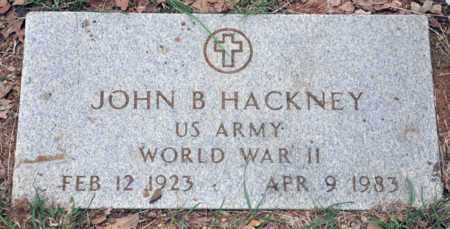 HACKNEY, JOHN B - Tarrant County, Texas | JOHN B HACKNEY - Texas Gravestone Photos