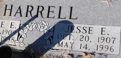 HARRELL, JESSE E - Tarrant County, Texas | JESSE E HARRELL - Texas Gravestone Photos