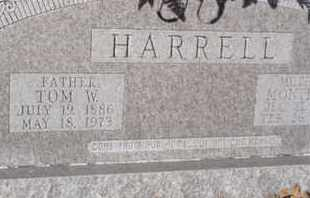 HARRELL, TOM W - Tarrant County, Texas | TOM W HARRELL - Texas Gravestone Photos