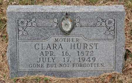 HURST, CLARA - Tarrant County, Texas | CLARA HURST - Texas Gravestone Photos
