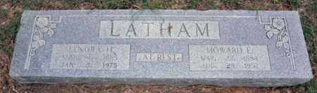 LATHAM, HOWARD E - Tarrant County, Texas   HOWARD E LATHAM - Texas Gravestone Photos