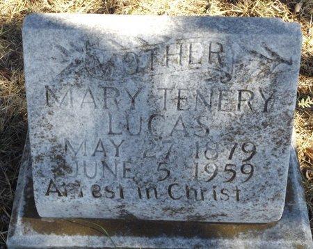 LUCAS, MARY TENERY - Tarrant County, Texas | MARY TENERY LUCAS - Texas Gravestone Photos