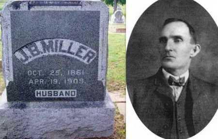 MILLER, JAMES BROWN - Tarrant County, Texas | JAMES BROWN MILLER - Texas Gravestone Photos
