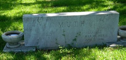MUTH, BILLY - Tarrant County, Texas | BILLY MUTH - Texas Gravestone Photos