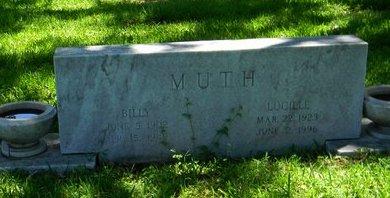 MUTH, LUCILLE - Tarrant County, Texas | LUCILLE MUTH - Texas Gravestone Photos