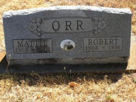ORR, MATTIE - Tarrant County, Texas | MATTIE ORR - Texas Gravestone Photos