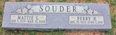SOUDER, MATTIE LOUISE - Tarrant County, Texas | MATTIE LOUISE SOUDER - Texas Gravestone Photos