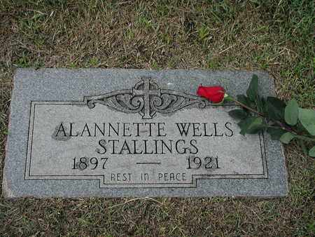 STALLINGS, ALANNETTE - Tarrant County, Texas | ALANNETTE STALLINGS - Texas Gravestone Photos