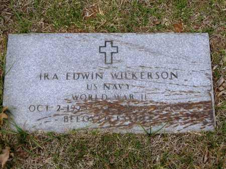 WILKERSON (VETERAN WWII), IRA EDWIN - Tarrant County, Texas   IRA EDWIN WILKERSON (VETERAN WWII) - Texas Gravestone Photos