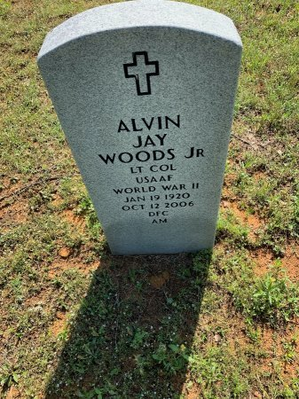 WOODS, JR. (VETERAN WWII), ALVIN JAY - Tarrant County, Texas | ALVIN JAY WOODS, JR. (VETERAN WWII) - Texas Gravestone Photos