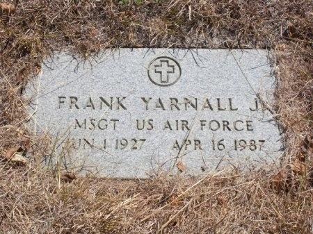 YARNALL, JR (VETERAN), FRANK - Tarrant County, Texas | FRANK YARNALL, JR (VETERAN) - Texas Gravestone Photos