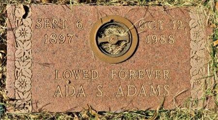 ADAMS, ADA - Taylor County, Texas | ADA ADAMS - Texas Gravestone Photos