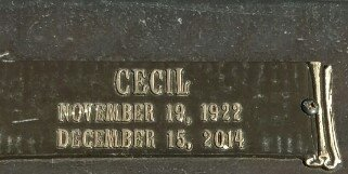 COUCH, HAROLD CECIL (CLOSEUP) - Taylor County, Texas   HAROLD CECIL (CLOSEUP) COUCH - Texas Gravestone Photos
